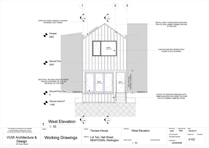 Terrace house construction drawings joshjoemcindoearchitecture