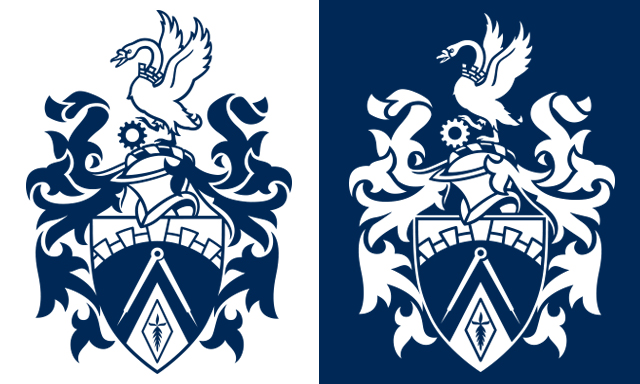 Brunel University Crest Vanessa Wright Illustration